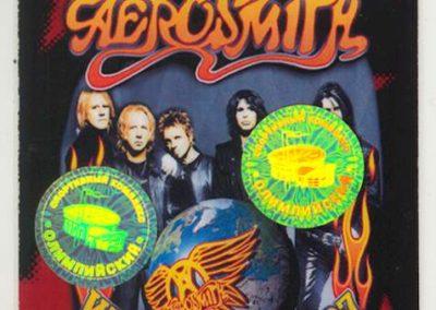 Aerosmith Promouter 2007