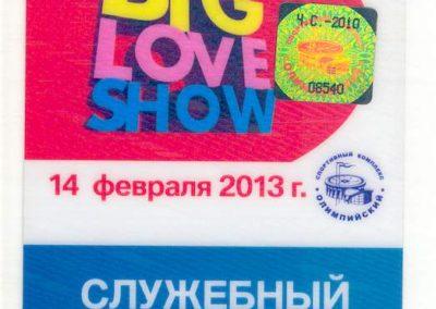 Big Love Show 2013