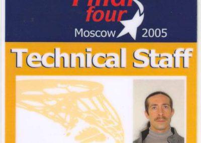 Championships Basketboll Euroleague 2005