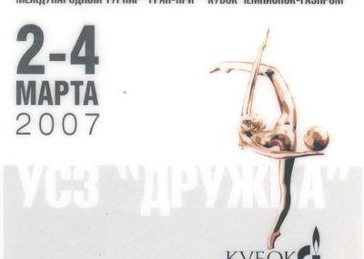 Championships Gymnastics 2007