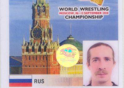Championships World Wrestling 2010