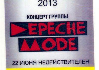 Depesh Mode 2013