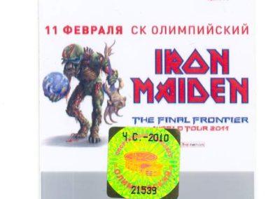 Iron Maiden 2011