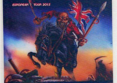 Iron Maiden Local Crew Spb 2013