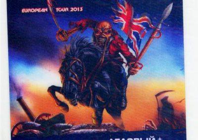 Iron Maiden Promoter Spb 2013