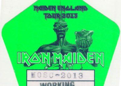 Iron Maiden Working Msk 2013