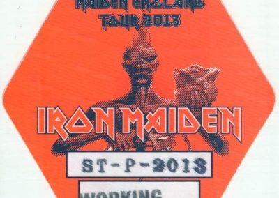 Iron Maiden Working Spb 2013