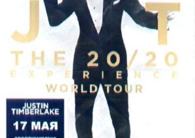 Justin Timberlake Experience World Tour