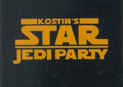 Kostin's Jedy Party