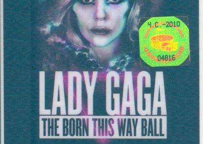Lady Gaga The Born This Way Ball Msk 2012