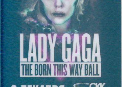 Lady Gaga The Born This Way Ball Spb 2012