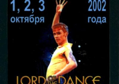 Lord of the Dance Msk 2002