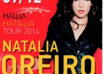 Natalia Oreiro Tour 2014