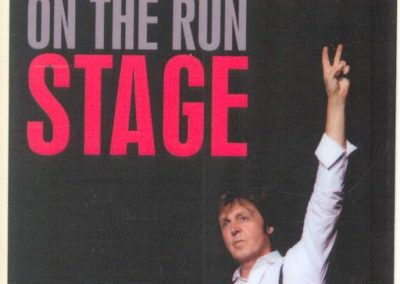 Paul McCartney On the Run Stage