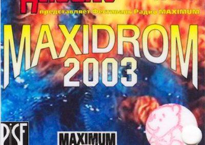 Rock Festival Maxidrom 2003
