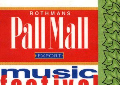 Rock Festival Pall Mall 01